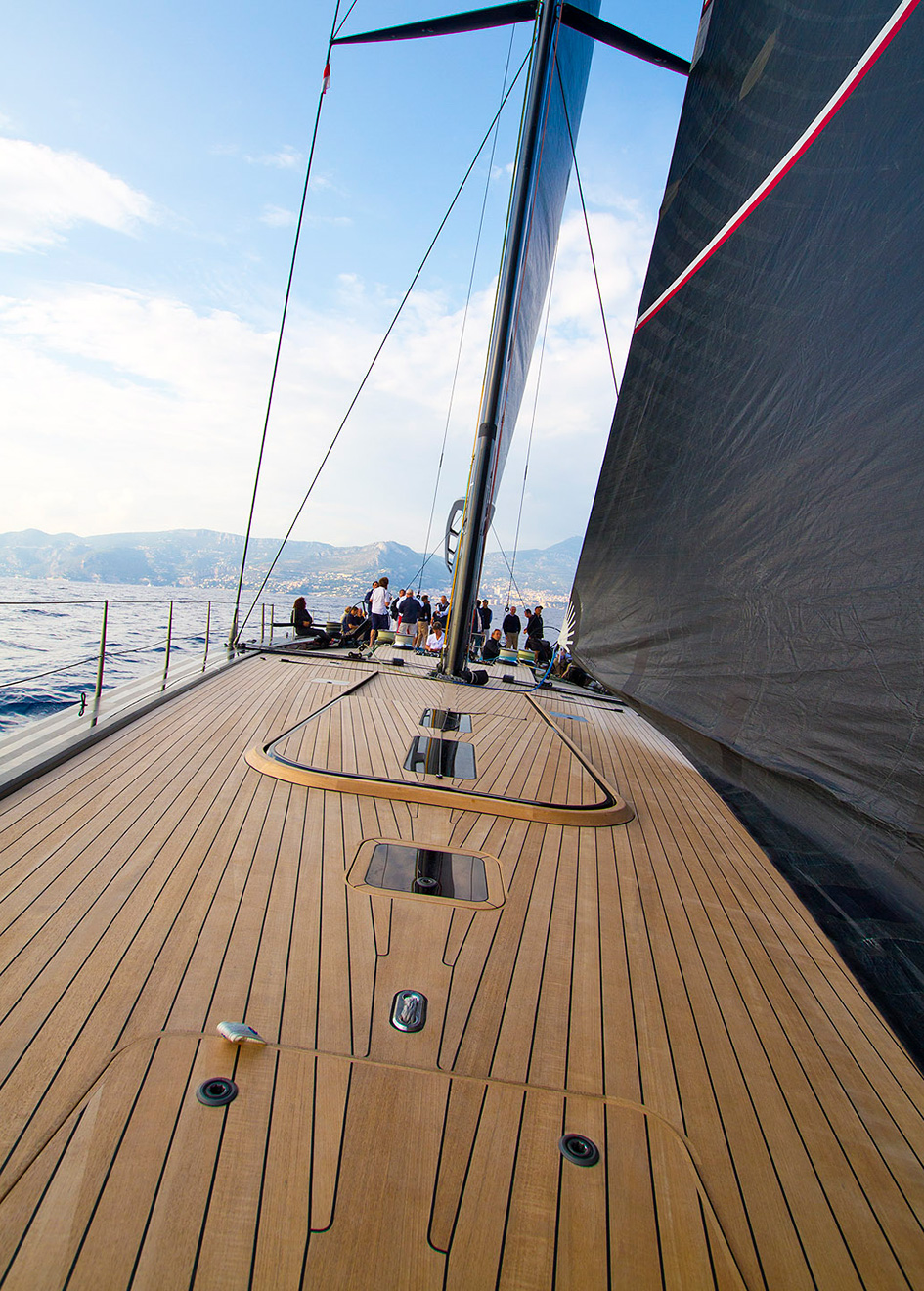the-deck-of-the-wallycento-sailing-superyacht-tango-on-her-monaco-sea-trial-credit-Raphael-Montigneaux