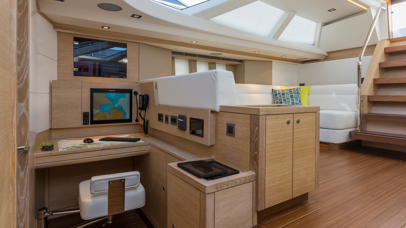 the-office-of-oyster-825-sailing-super-yacht-maegan