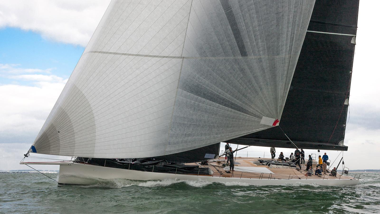Wallycento Galateia Sailing