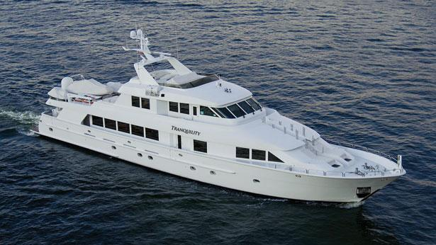 Northrop And Johnson >> Price reduction on superyacht Tranquility at Northrop ...