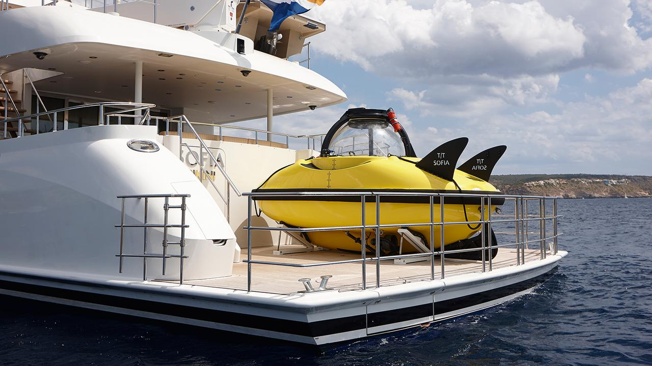 The best six superyachts with submarines boat international for Best websites for sales
