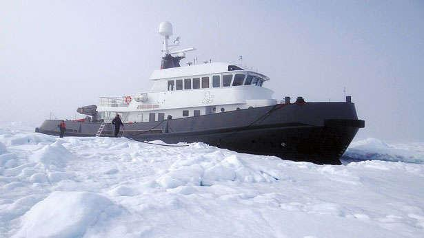 lars u0026 39  owner on the 36 4m explorer yacht u0026 39 s voyage to the arctic