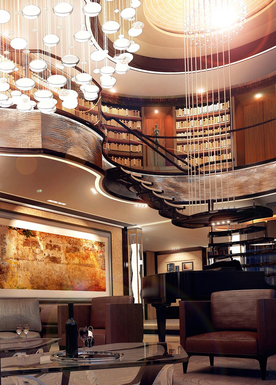 Portrait Nobiskrug Radiance Concept Yacht Atrium