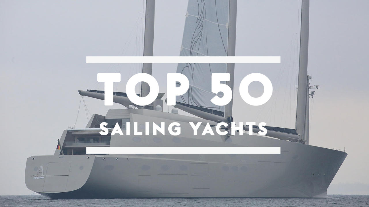17 Best Images About Sailing Quotes On Pinterest: The Top 50 Largest Sailing Yachts In The World