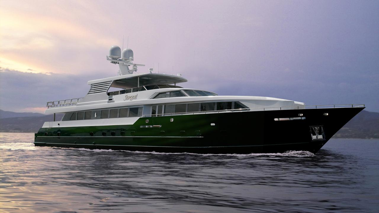 Custom Splendor motor yacht Serque now for sale with Denison