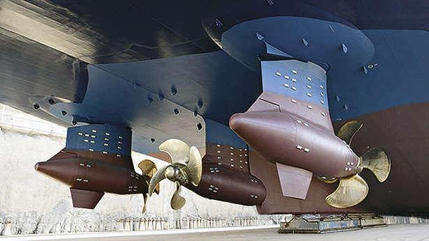 Azimuthing Drive Propulsion Systems Boat International