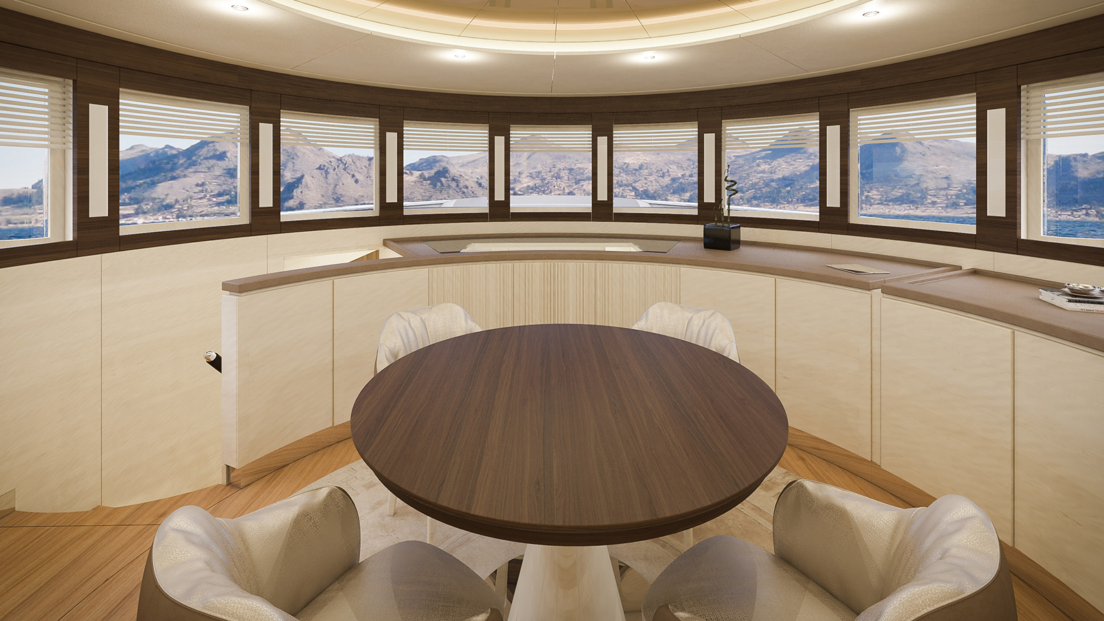 the-dining-area-on-the-filippetti-26-navetta-super-yacht-is-on-the-main-deck