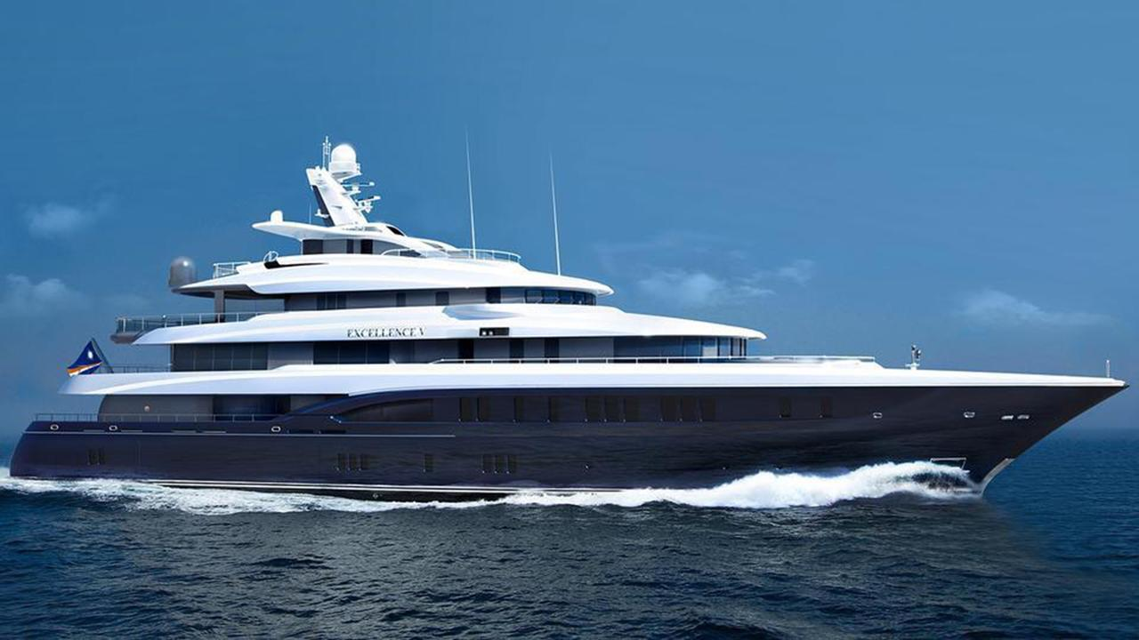 the superyachts for sale at the palm beach international