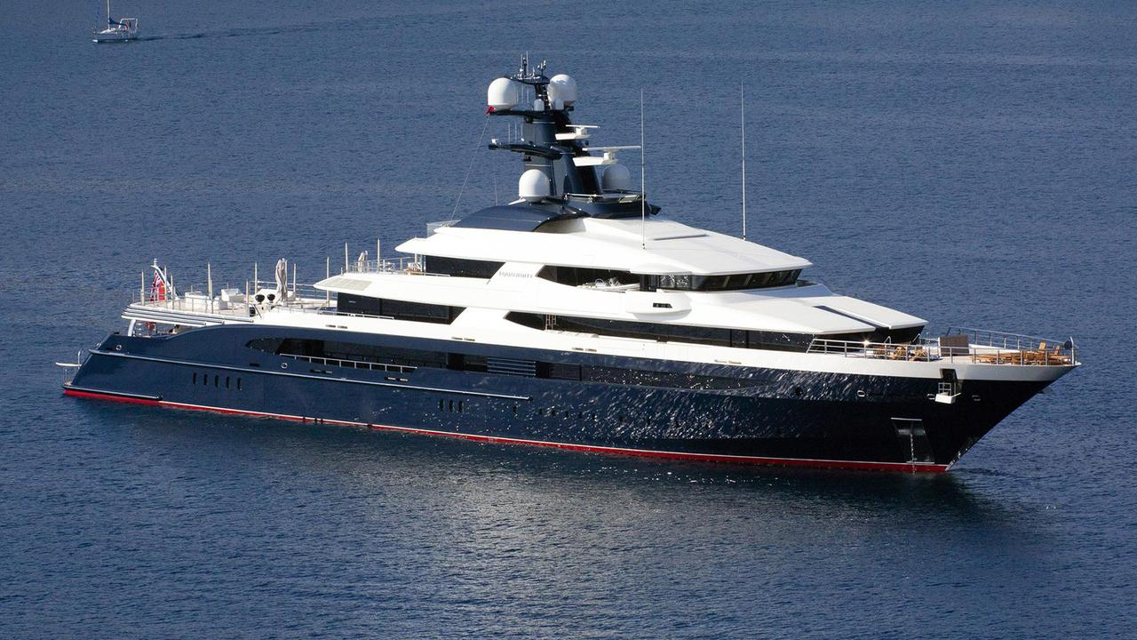 Seized Superyacht Equanimity Renamed Tranquility As Sale Is