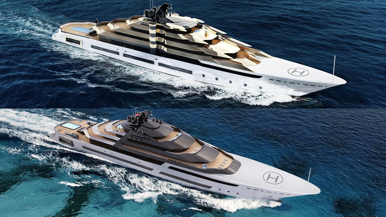 Superyachten concept  MUB Design goes supersize with 120m superyacht concepts | Boat ...