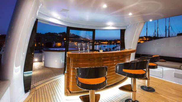 Semi Custom Amels Yacht Engelberg Combines Family Home