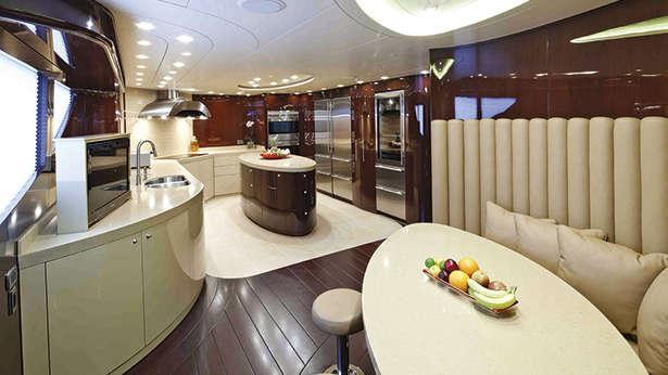 Designing Efficient Galleys For Superyachts Boat