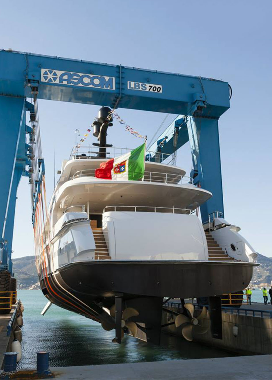 Baglietto 10219 being launched