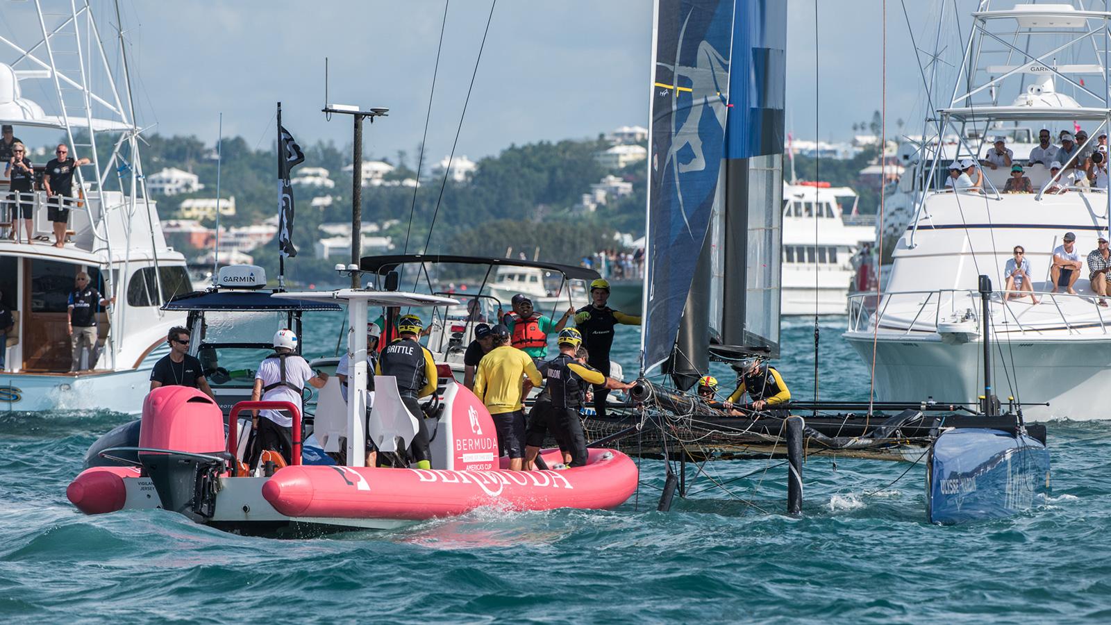 Americas Cup World Series Bermuda Crash2