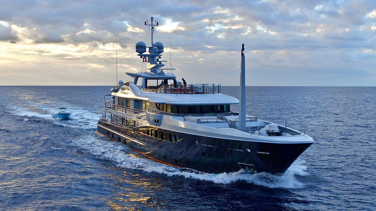 On board with Jonathan Rothberg, owner of 55m explorer yacht