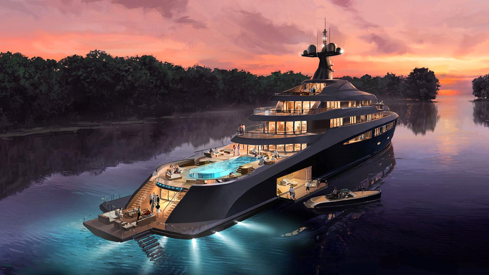 Nobiskrug Radiance Concept yacht