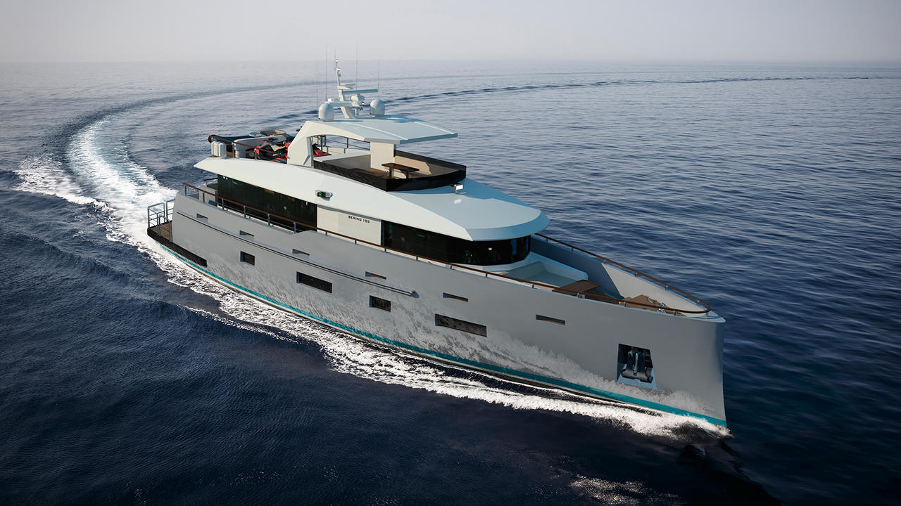 Bering Yachts reveals 105 Coastal yacht concept | Boat