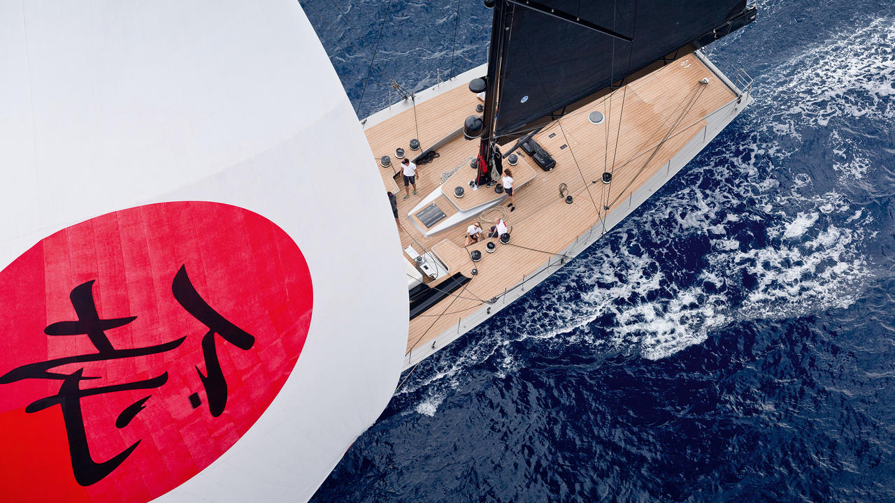 Samurai: The record-breaking racer refitted as a superyacht