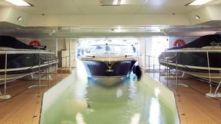 Top Innovative Superyacht Tender Garage Designs Boat