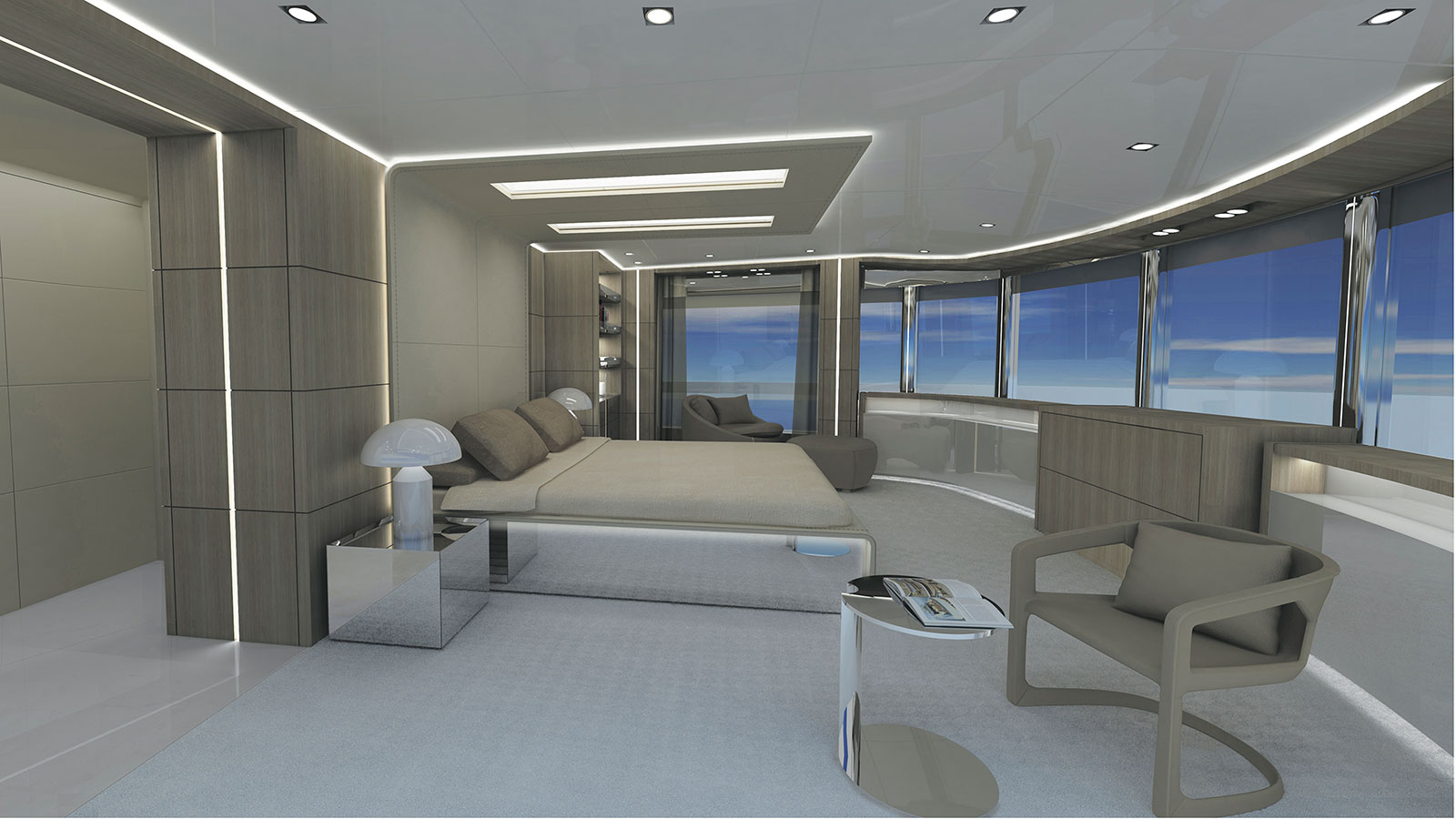 Dreamline 30 owners suite