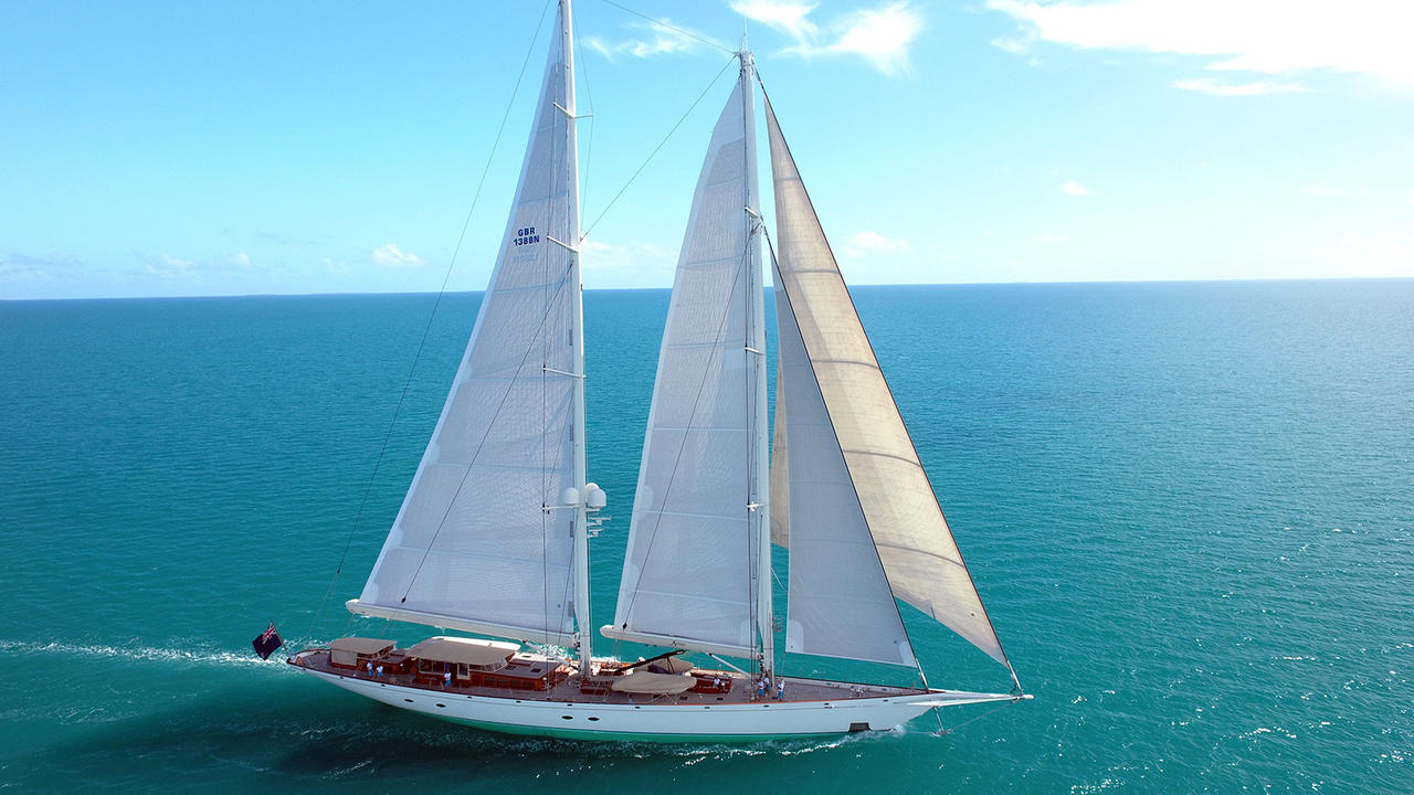 17 Best Images About Sailing Quotes On Pinterest: Holland Jachtbouw Super Yacht Athos Relaunched After Orams