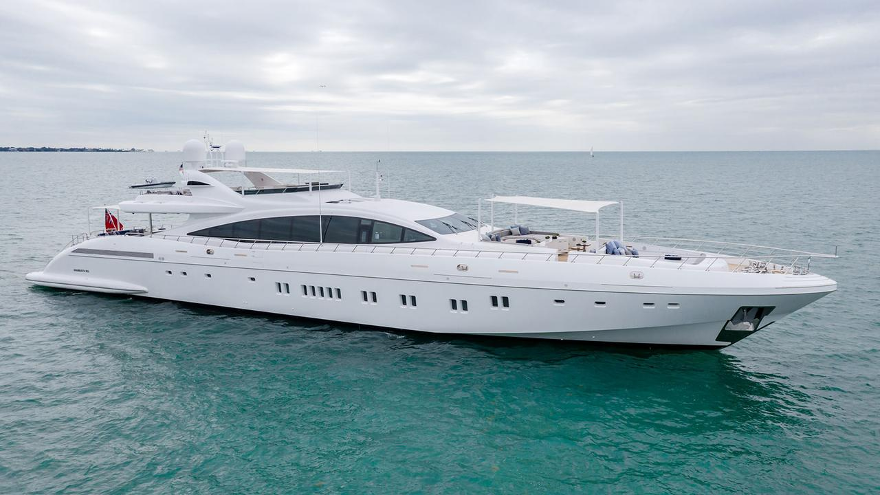 Mangusta 165 Motor Yacht Incognito For Sale Boat International