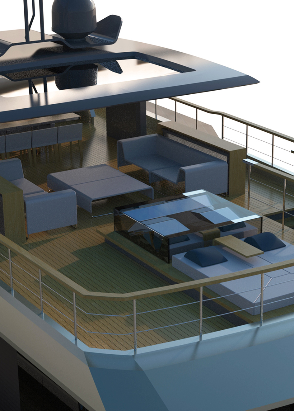 the-flybridge-of-the-couach-3800-lounge-explorer-yacht-concept
