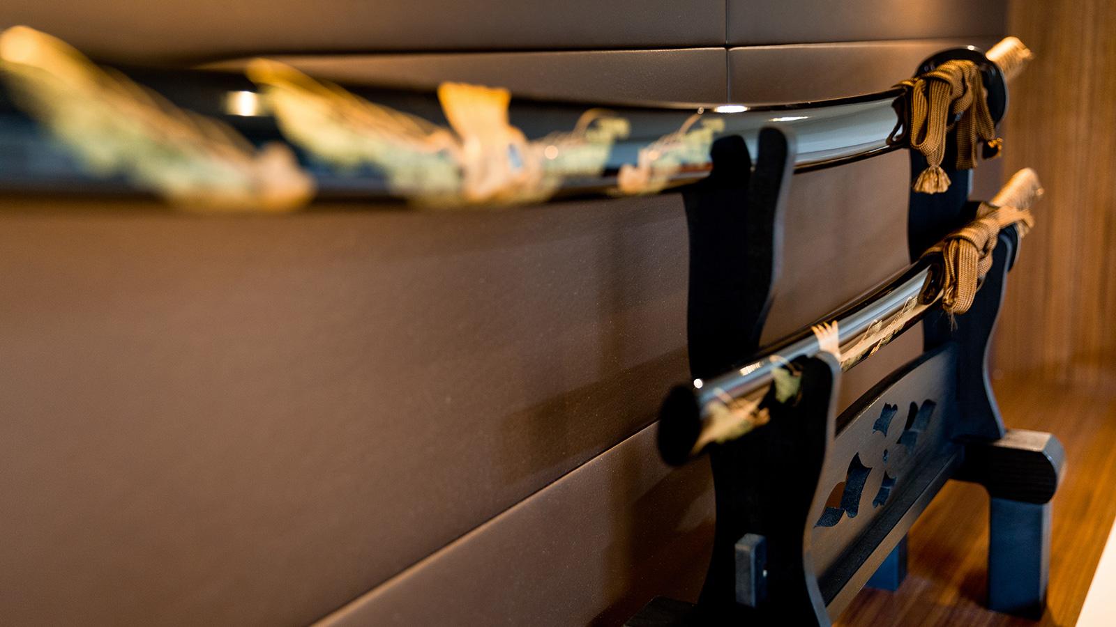 an-antique-sword-on-board-refitted-sailing-super-yacht-samurai