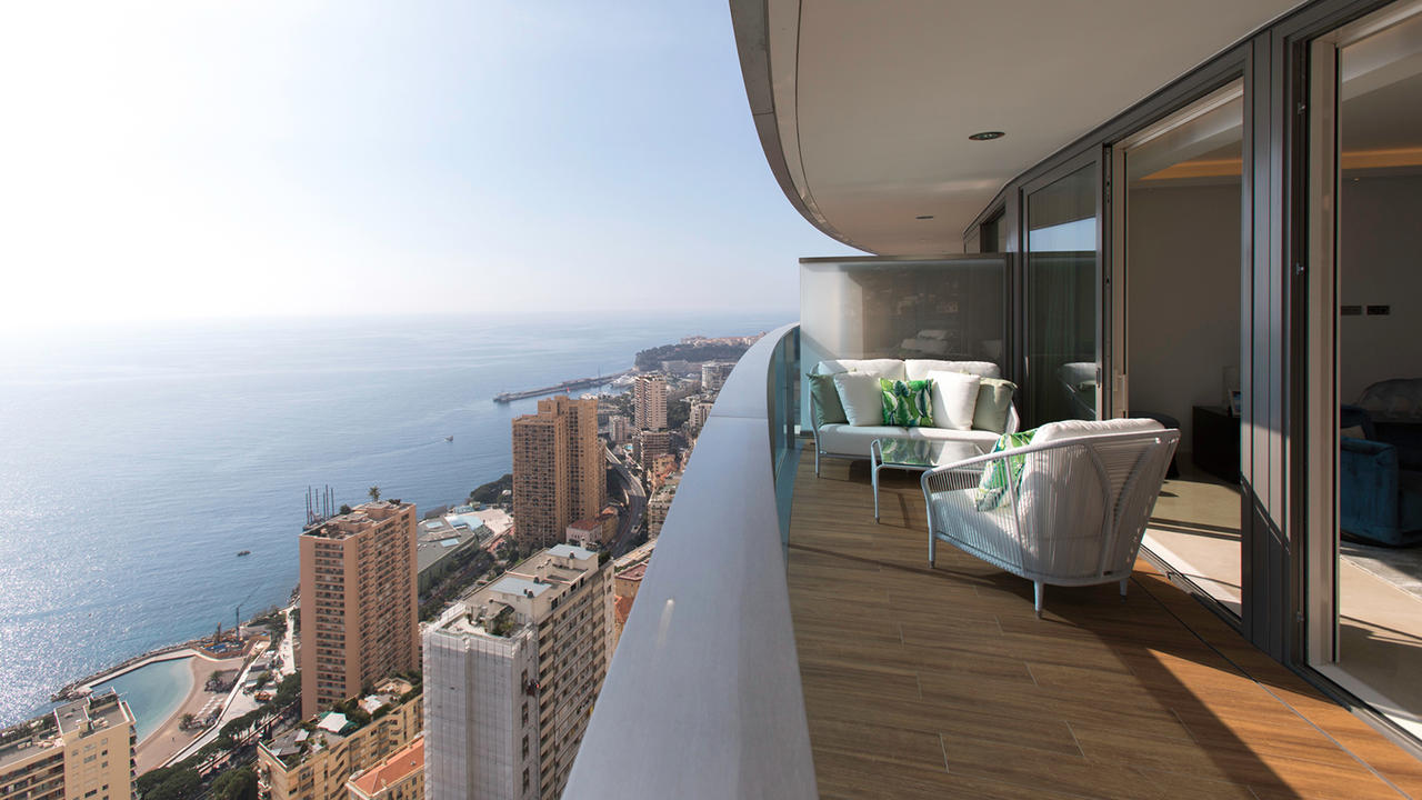 inside monaco 39 s odeon tower with sabrina monte carlo. Black Bedroom Furniture Sets. Home Design Ideas