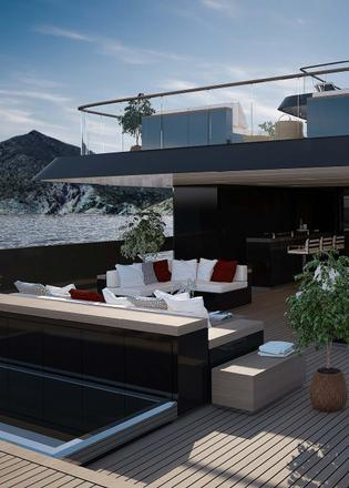 vsy teams up with hot lab for 67m explorer yacht concept boat international. Black Bedroom Furniture Sets. Home Design Ideas