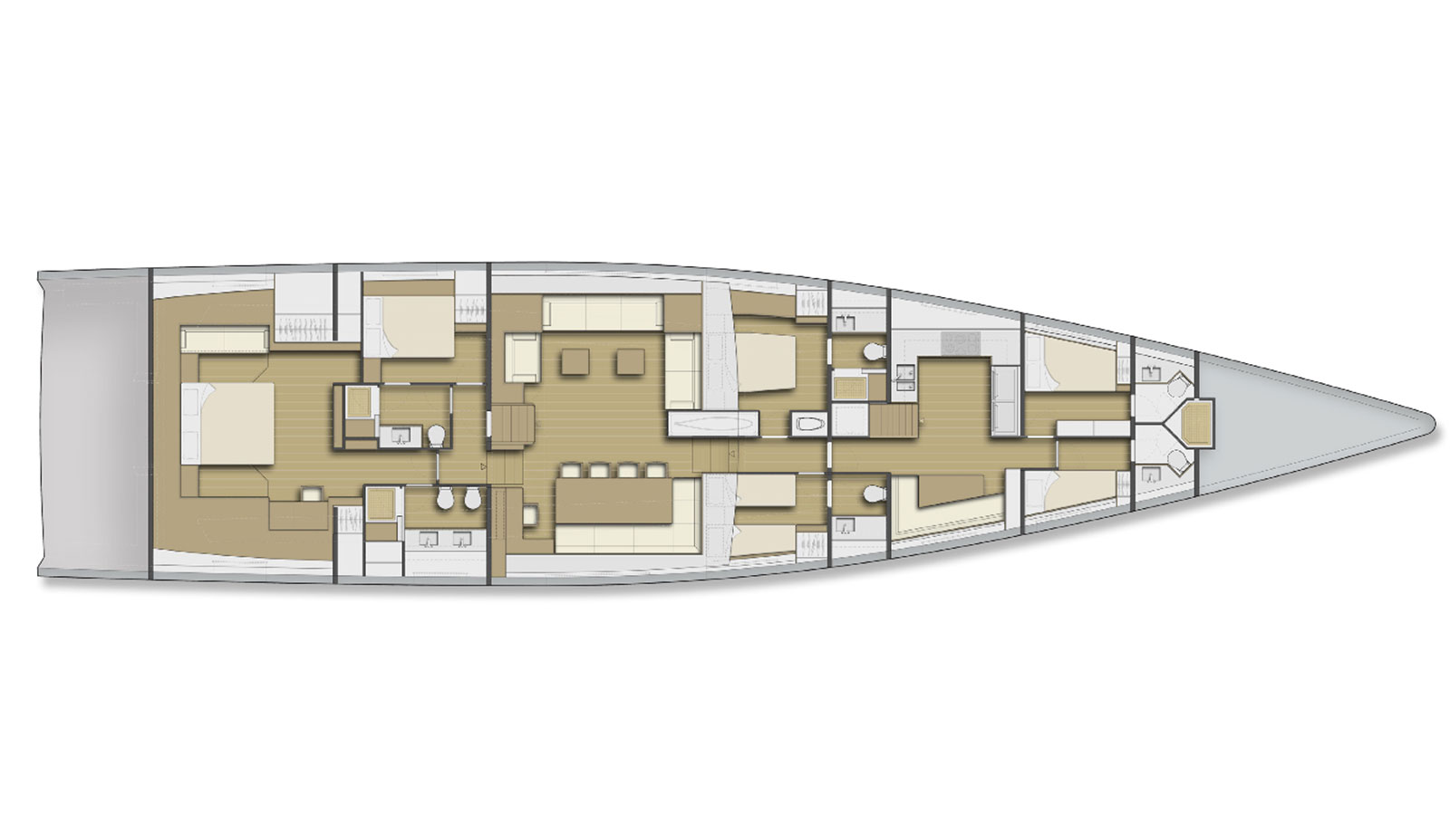 Silver Bullet 100 interior layout