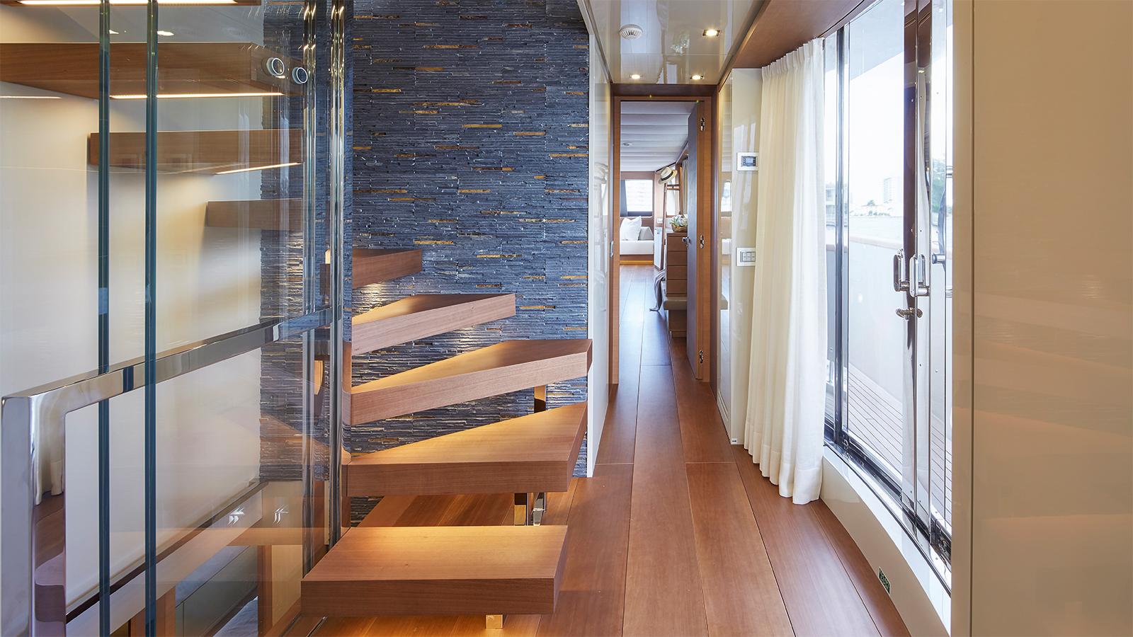 Superyacht O Hallway