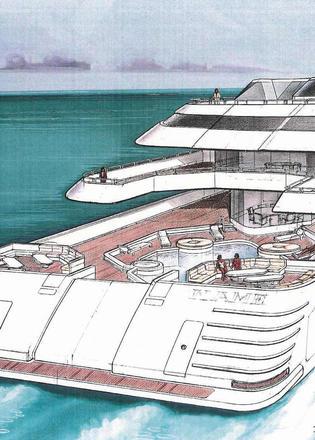 Oliver Design Explains 128m Donald Trump Superyacht