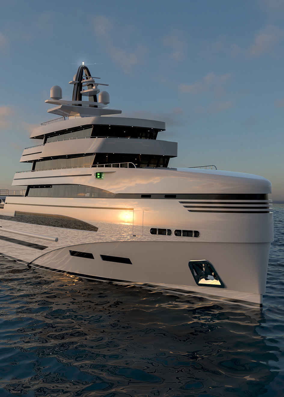 bow-view-of-the-85-metre-rosetti-superyacht-concept