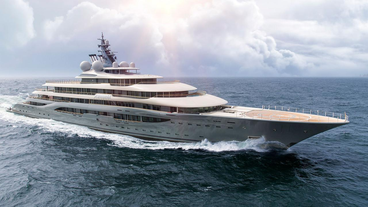 Lürssen Superyacht Project Shu Completes Sea Trials