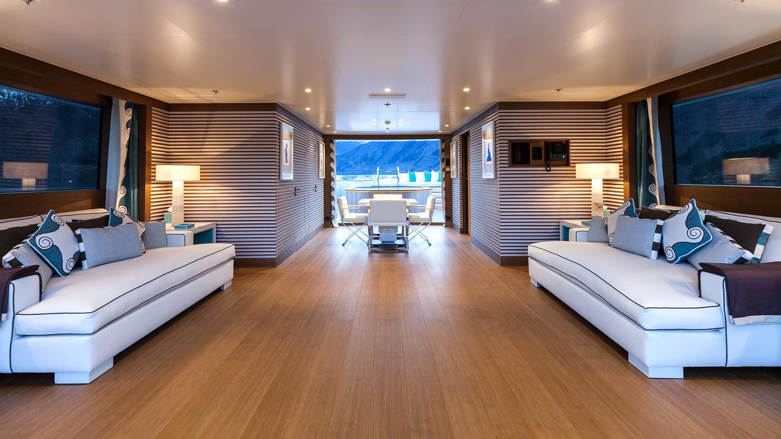 Event Yacht Upper Deck
