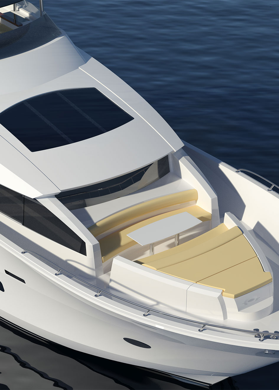 foredeck-of-the-hatteras-90-motor-yacht