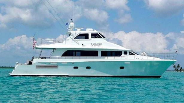 Mindy super yacht side