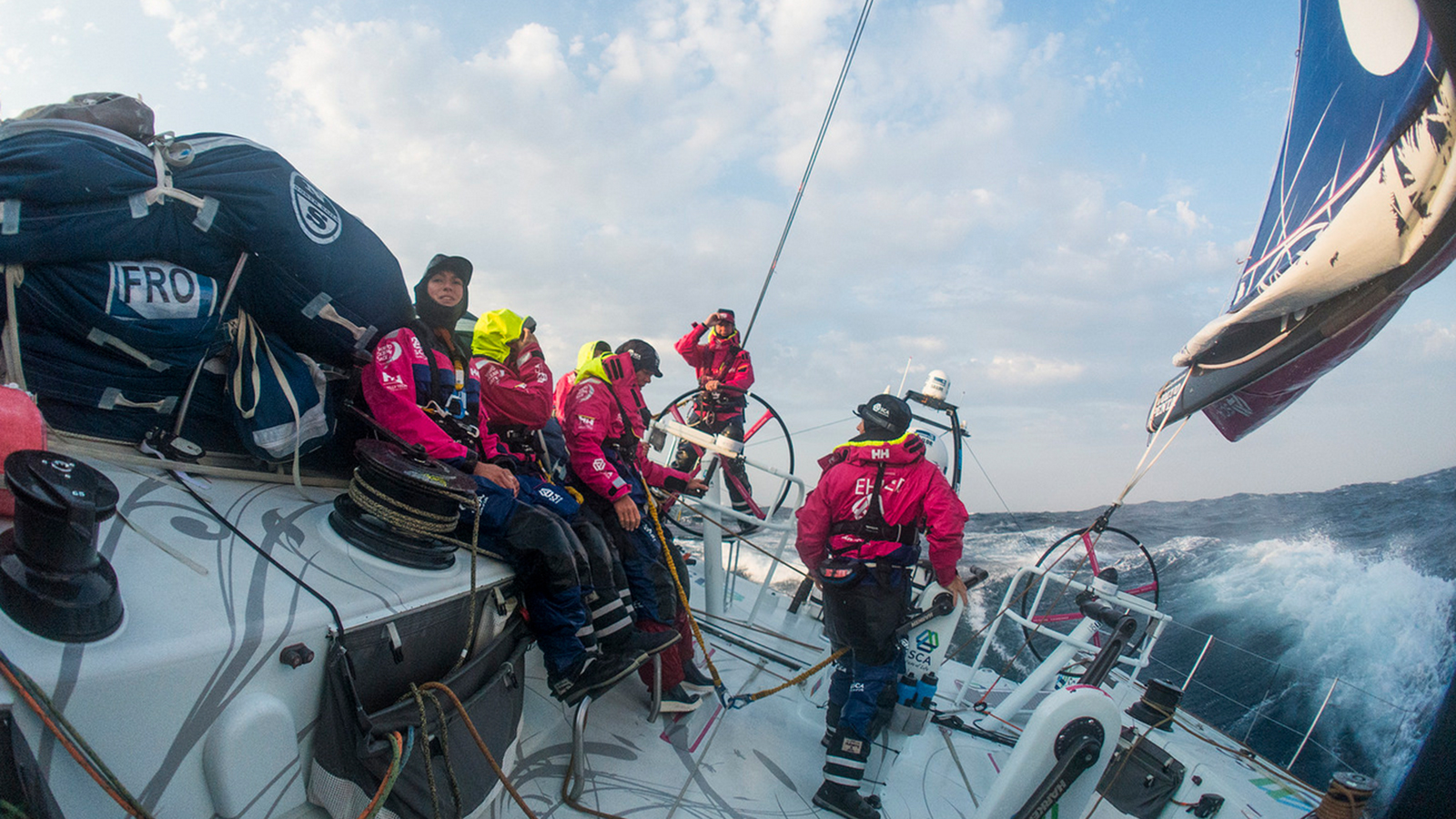 Team Sca Volvo Ocean Race Women Win