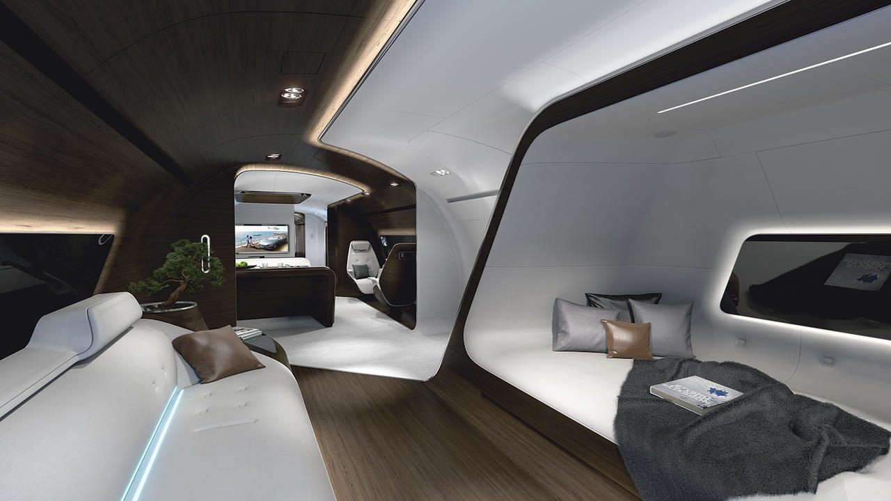 Jet Interior Design Why Private Jets Are The Ultimate Interior Design Challenge  Boat .
