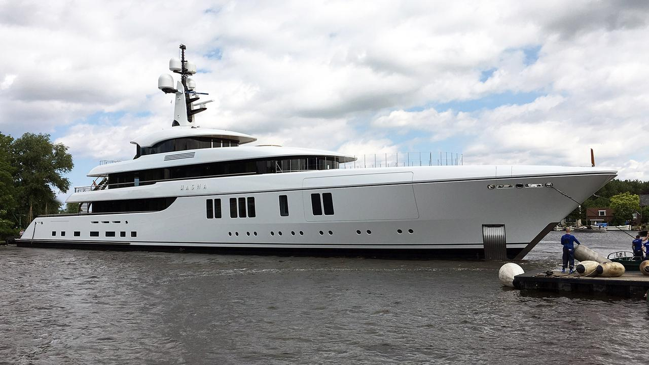 Feadship Superyacht Hasna Launched For Australian Owner