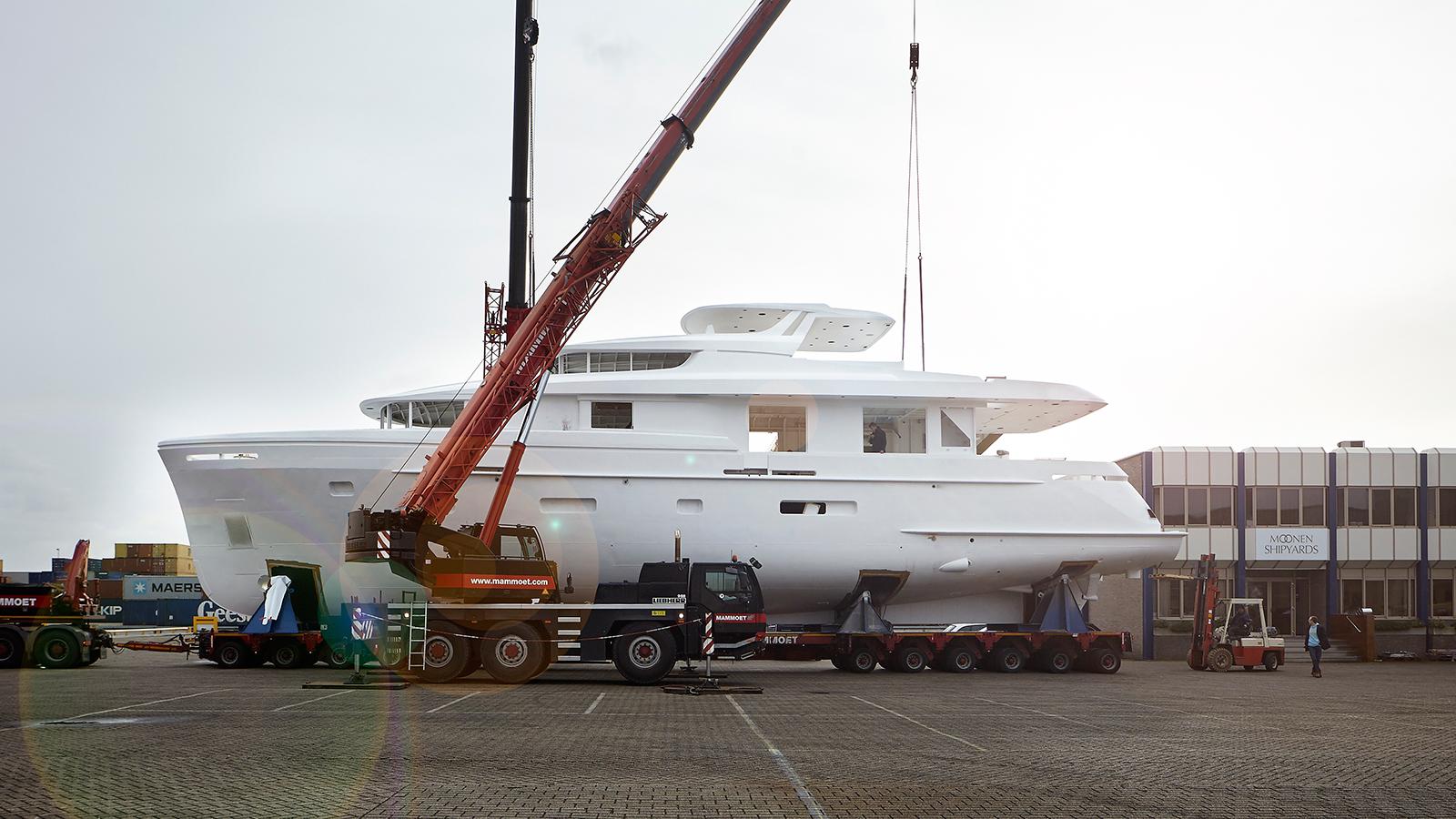 moonen shipyards new build restart