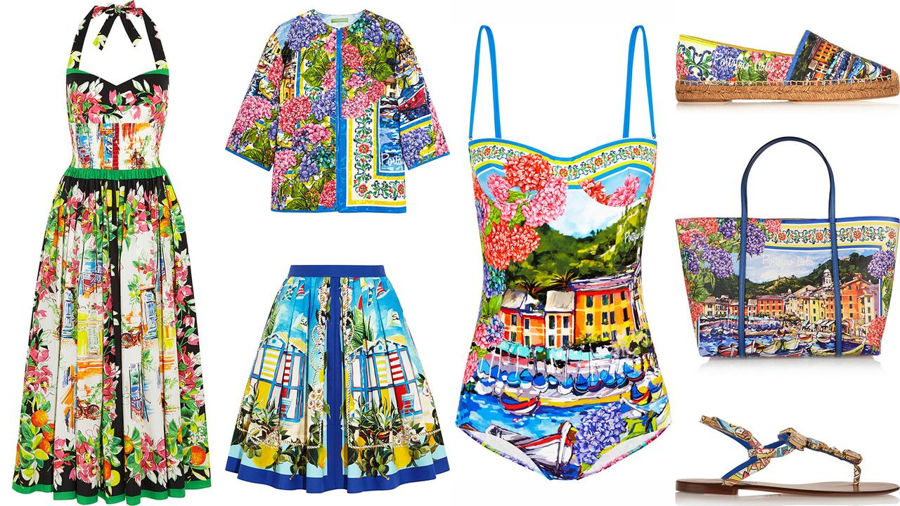 Fashion style Gabbana dolce portofino limited edition collection for woman