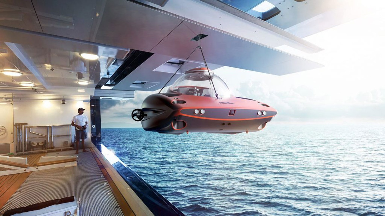 The Best Personal Submarines for Superyachts
