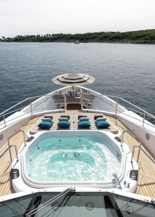 A personal paradise: On board Elysium, the Sunseeker 131