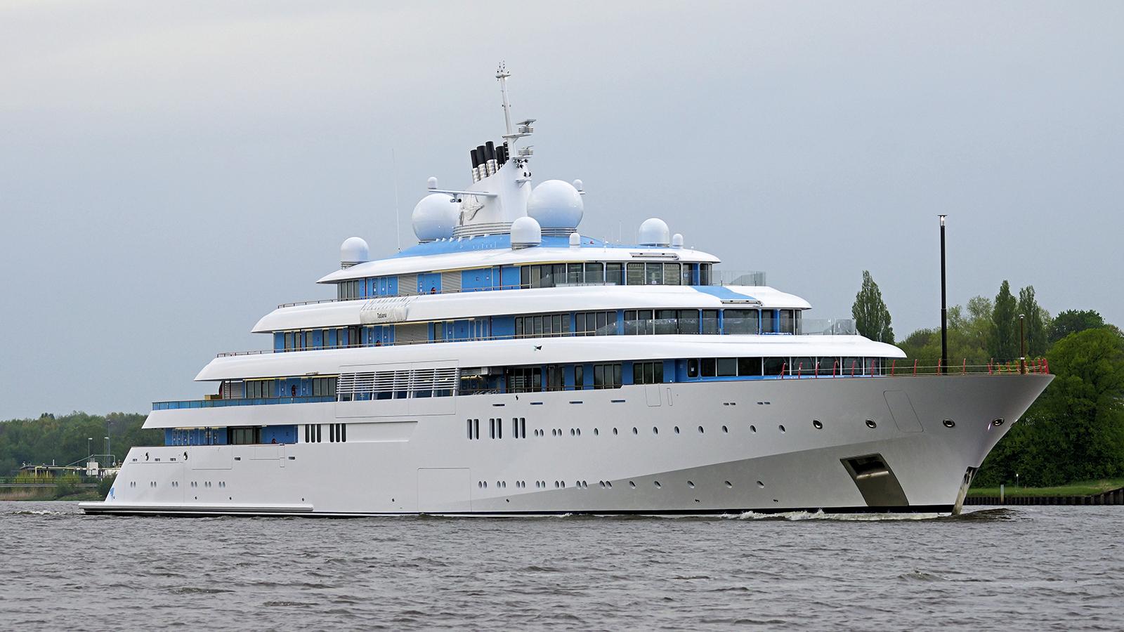 Lurssen superyacht Golden Odyssey