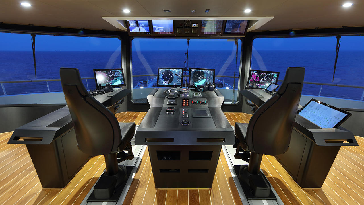 Super Yacht Best Engine Room