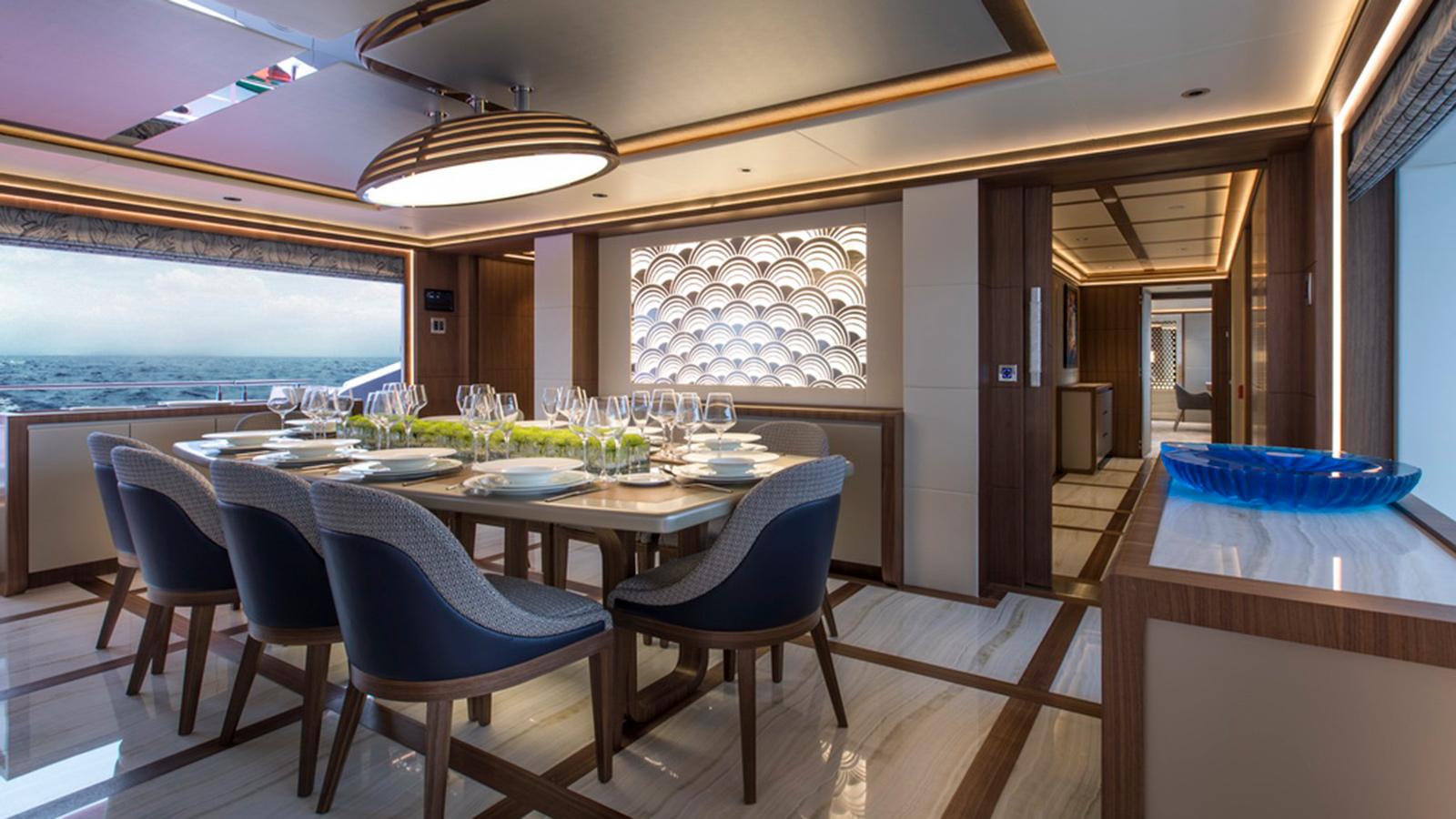 running-shot-of-the-gulf-craft-majesty-140-yacht