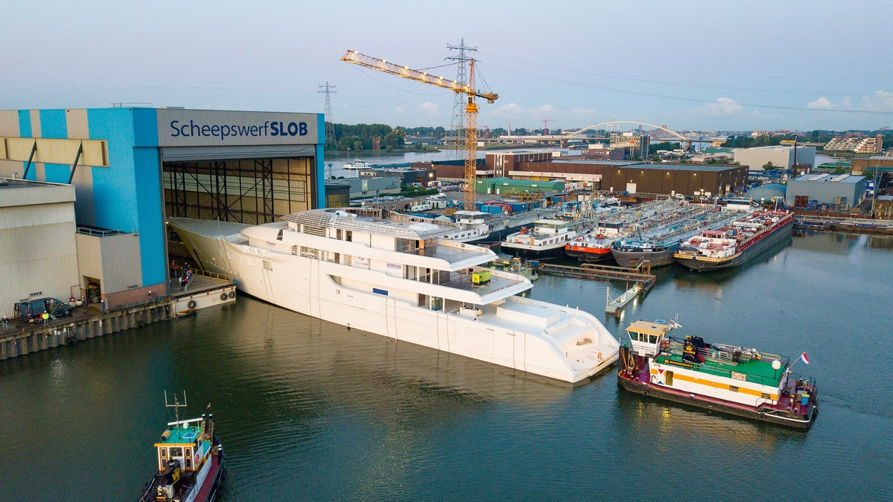 Feadship 95m Superyacht 1009 Revealed