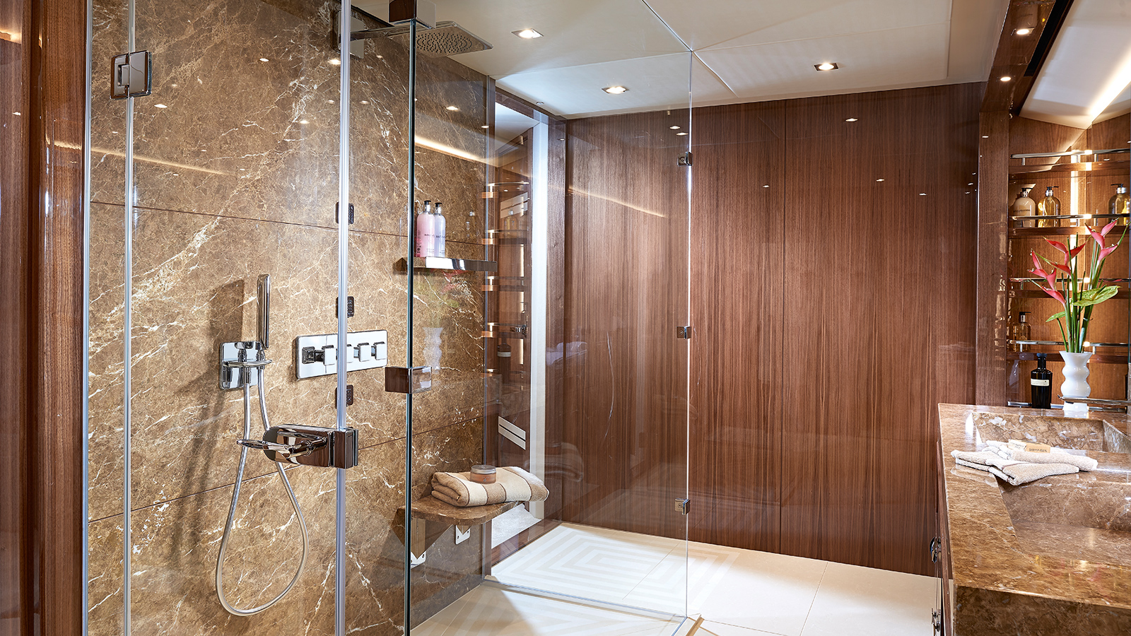 one-of-the-en-suite-bathrooms-on-sunseeker-131-yacht-zozo